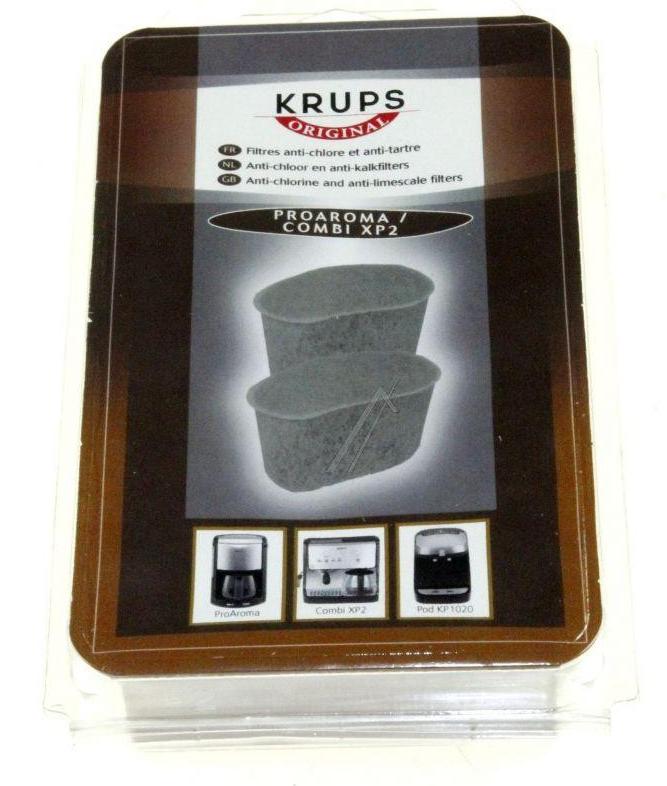 Filtros de agua para cafetera con filtro Krups